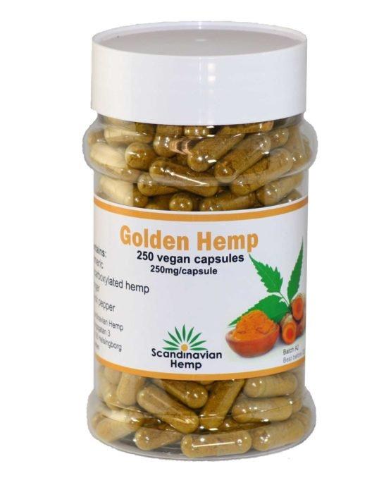 GOLDEN HEMP, 250 stk.