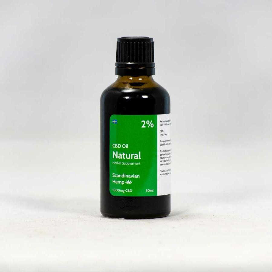 2 % CBD Oil Natural 50ml
