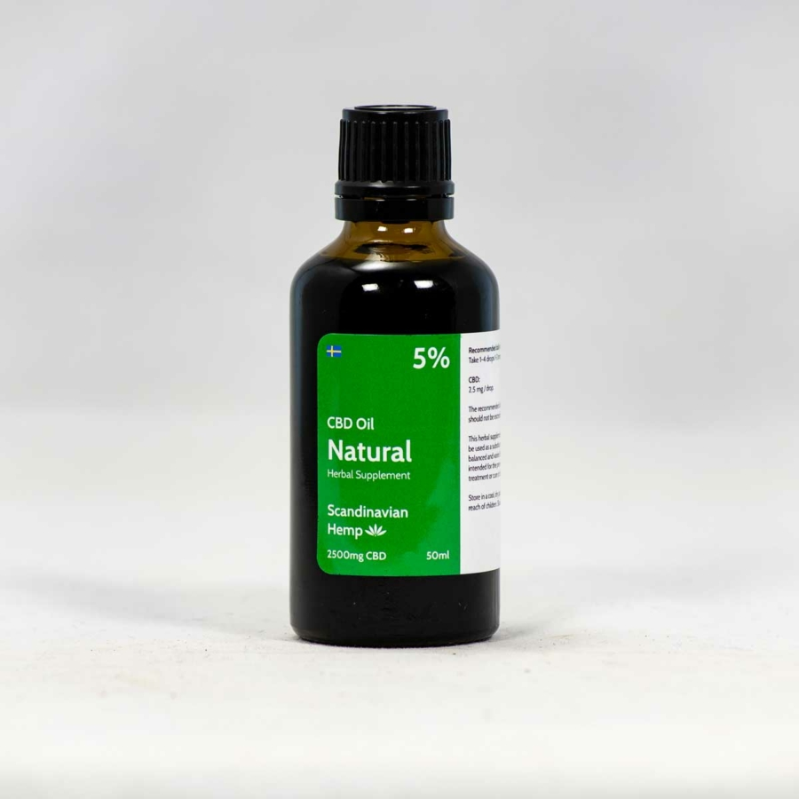5 % CBD Oil Natural 50ml