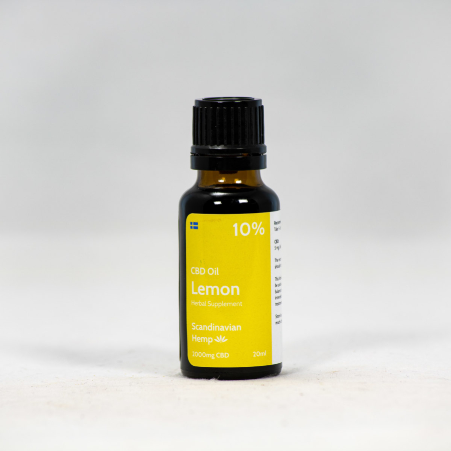 10% CBD Oil Lemon 20ml