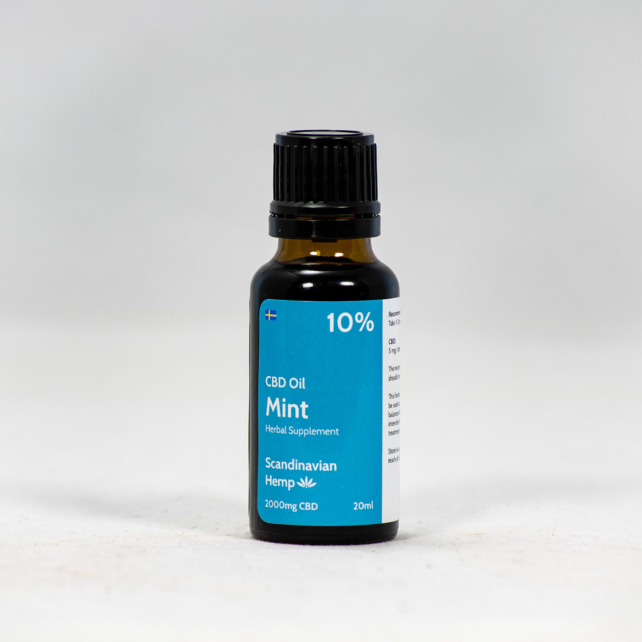 10% CBD Oil Mint 20ml