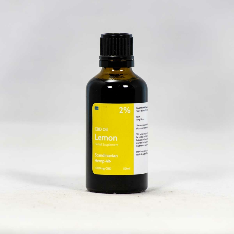2% CBD Oil Lemon 50ml