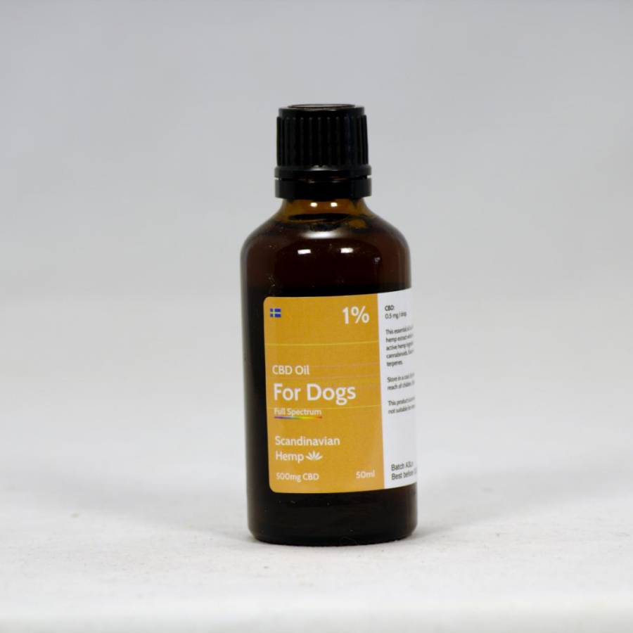 1% CBD Oil Dogs 50 ml
