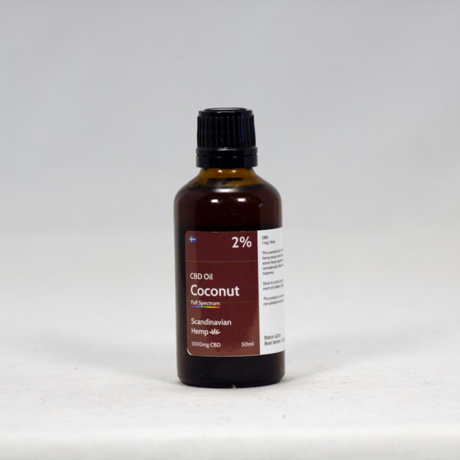 2% CBD Oil Coconut 50 ml