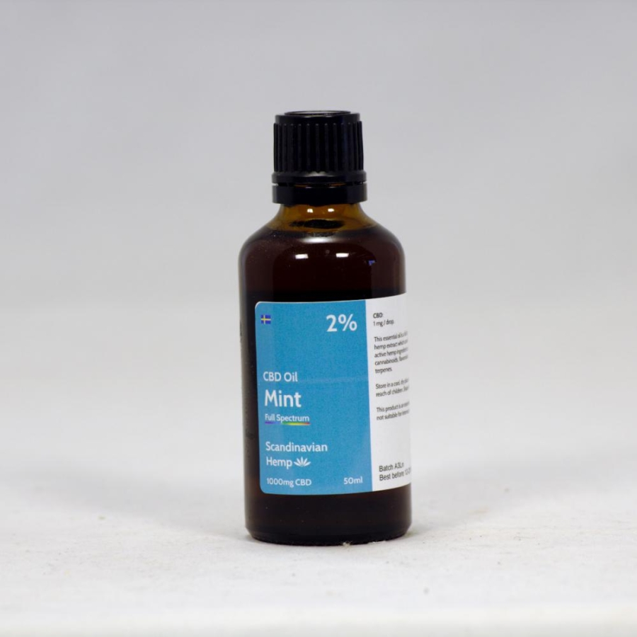 2% CBD Oil Mint 50 ml