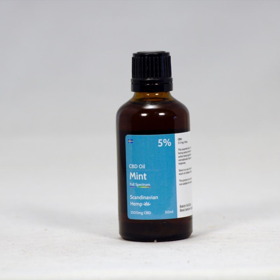 5% CBD Oil Mint 50 ml