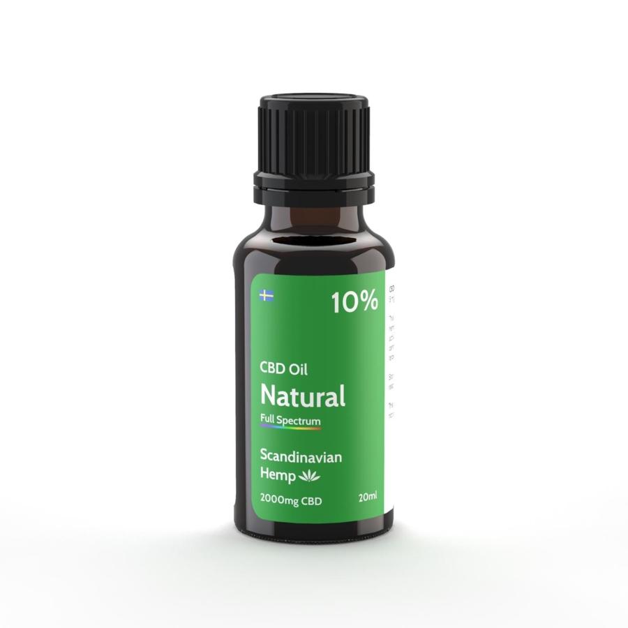 10% Huile de CBD Nature 20 ml
