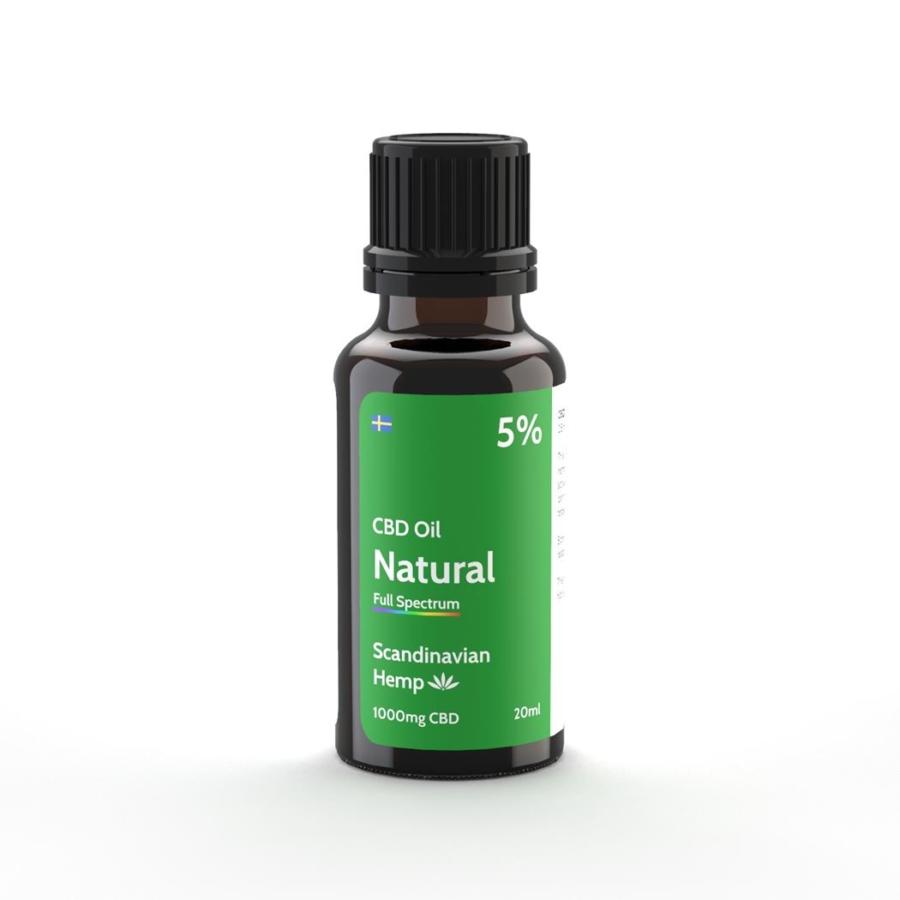 5% Huile de CBD Nature 20 ml
