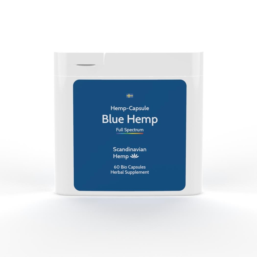 Blue Hemp, boîte de 60 capsules