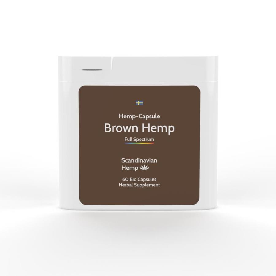 Brown Hemp, boîte de 60 capsules