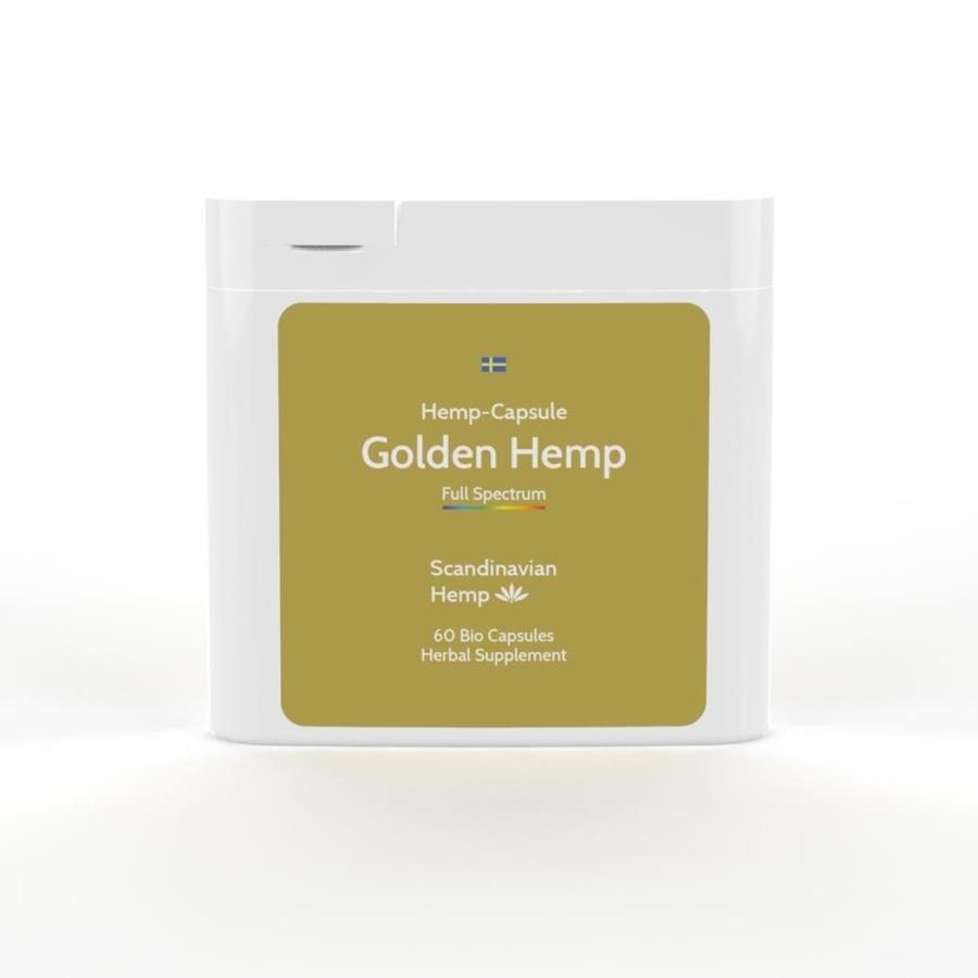 Golden Hemp, boîte de 60 capsules