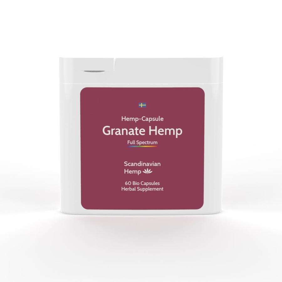 Granate Hemp, boîte de 60 capsules