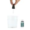 verre d'eau et gouttes immunity